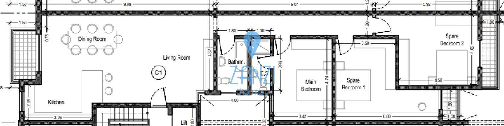 Qormi – 3 Bedroom Apartment For Sale