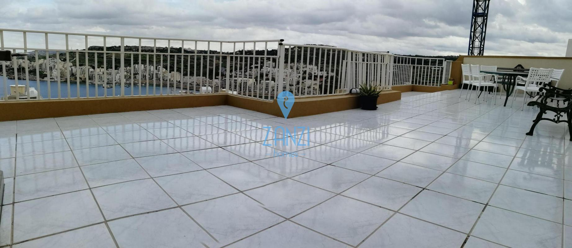 Xemxija – 3 Bedroom Penthouse For Sale